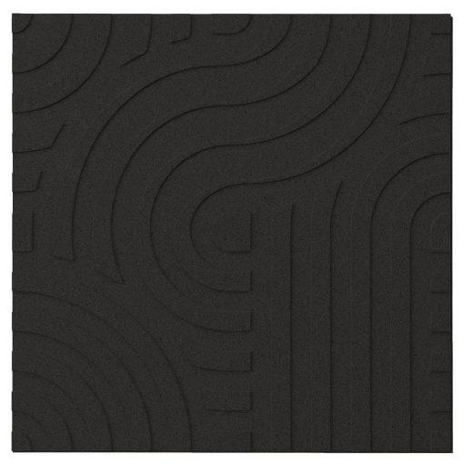 wandpaneele muratto corkin waves black