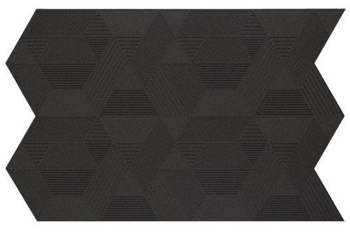 wandpaneele geometric black
