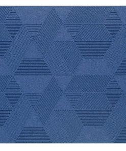 wandpaneele geometric blue