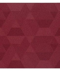 wandpaneele geometric bordeaux