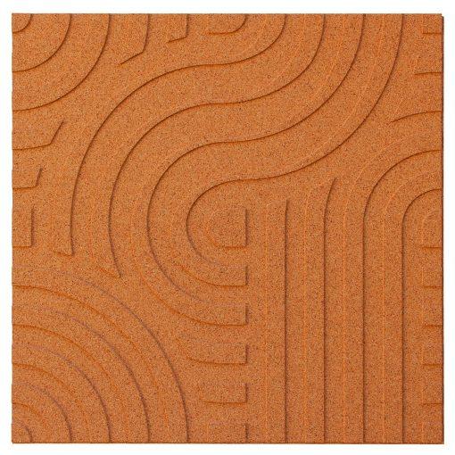wandpaneele corkin waves copper