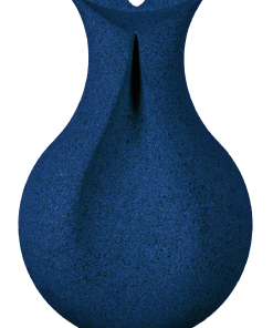 kork wandbekleidung drop blue