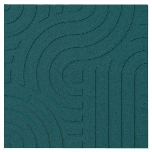 wandpaneele corkin waves emerald