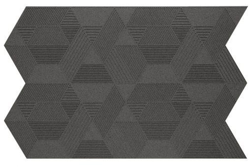 kork wandpaneele geometric grey