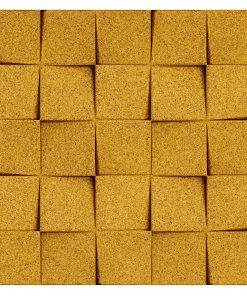 Kork Wandbekleidung yellow