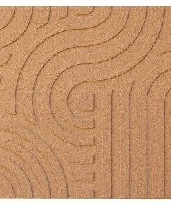 wandpaneele corkin waves natural