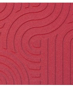 wandpaneele corkin waves red