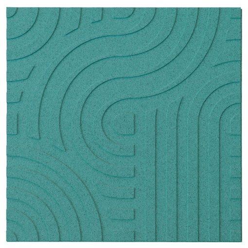 wandpaneele corkin waves turquoise