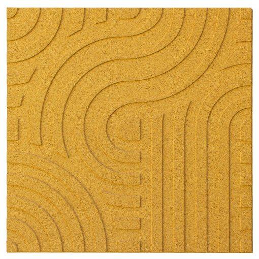 wandpaneele corkin waves yellow