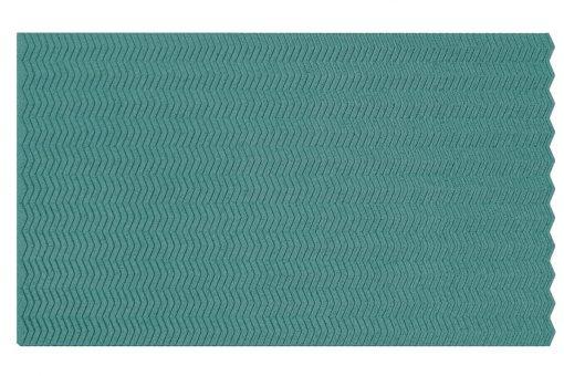 wandpaneele zigzag turquoise