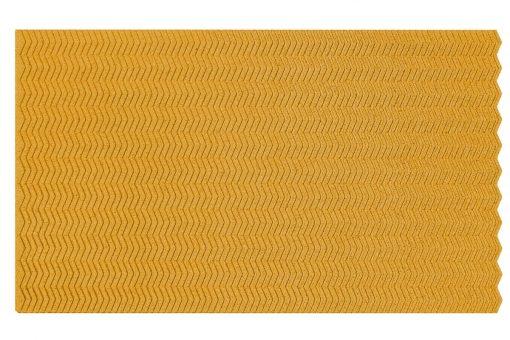 kork wandpaneele zigzag yellow